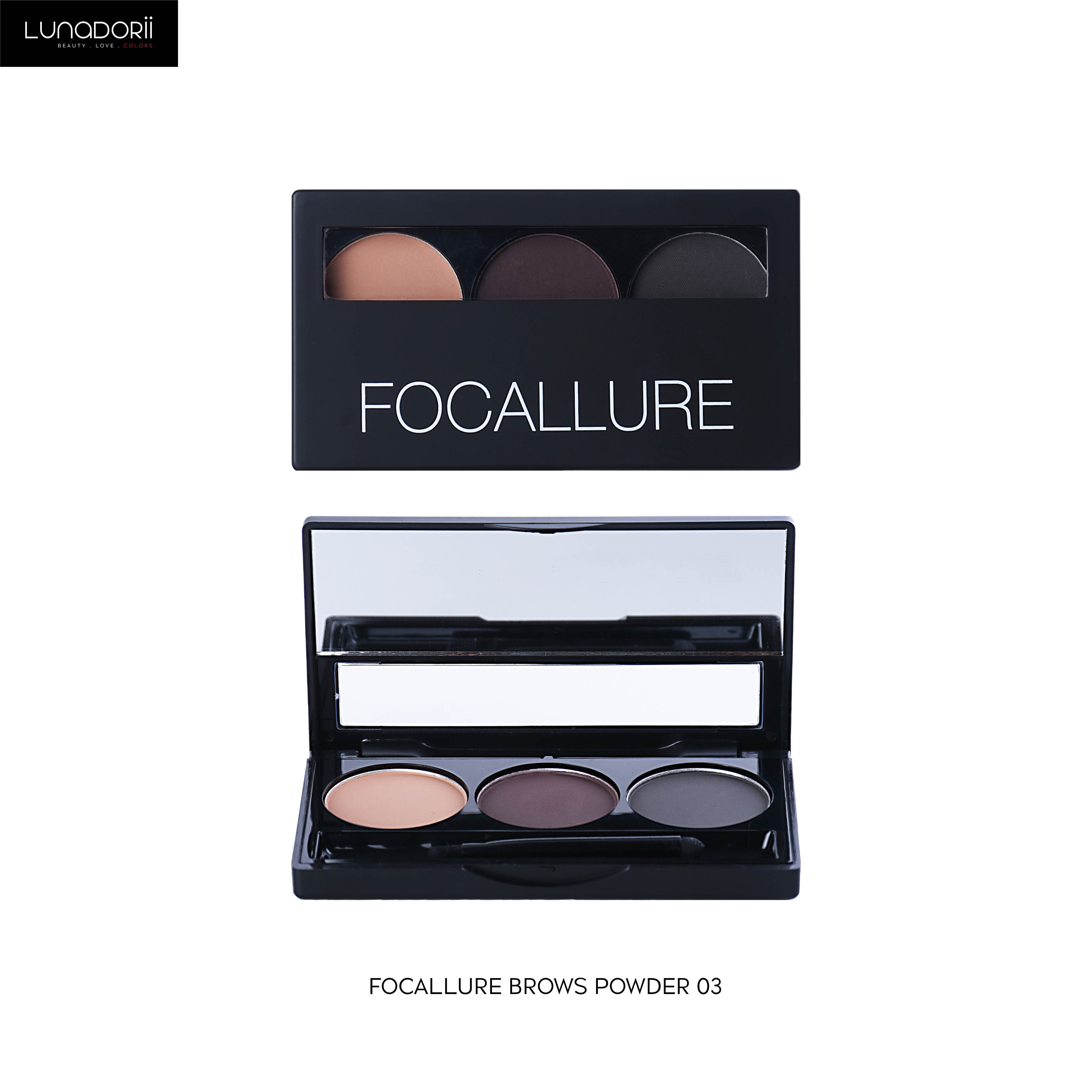 Focallure - FA04 Brows Powder - Brows Powder 03 thumbnail