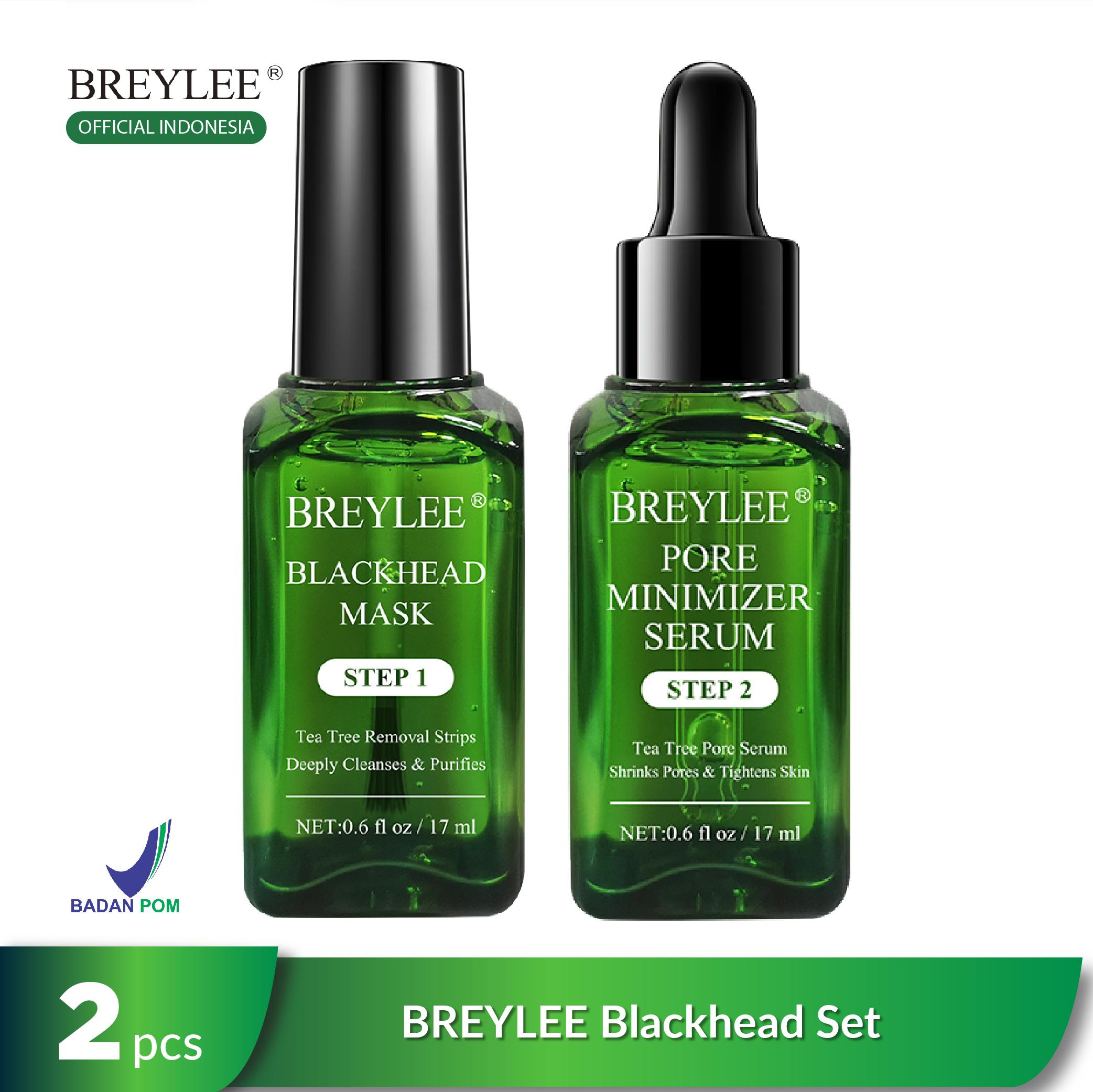 BREYLEE Blackhead Set - Pembersih Komedo & Pengecil Pori-Pori (2pcs) thumbnail