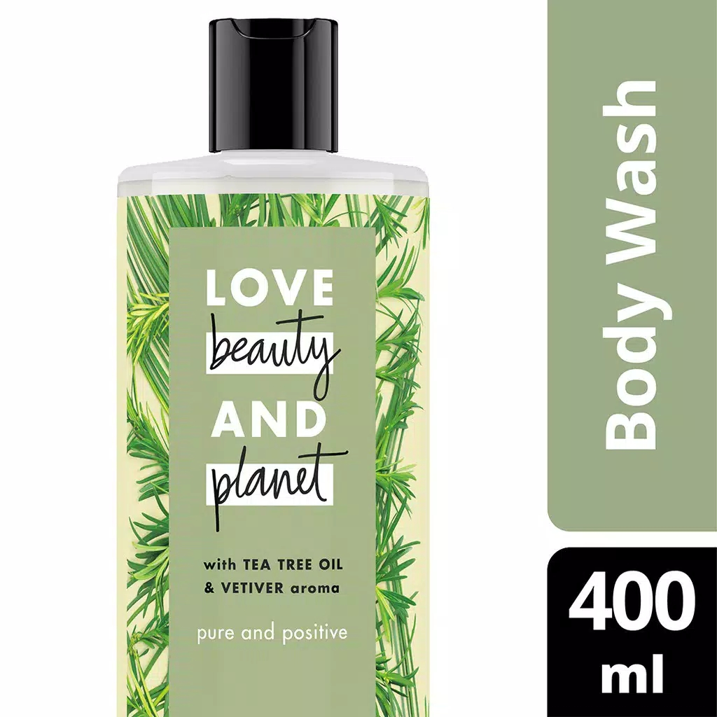Love Beauty & Planet Pure And Positive, Tea Tree Oil 400 ml bodywash thumbnail