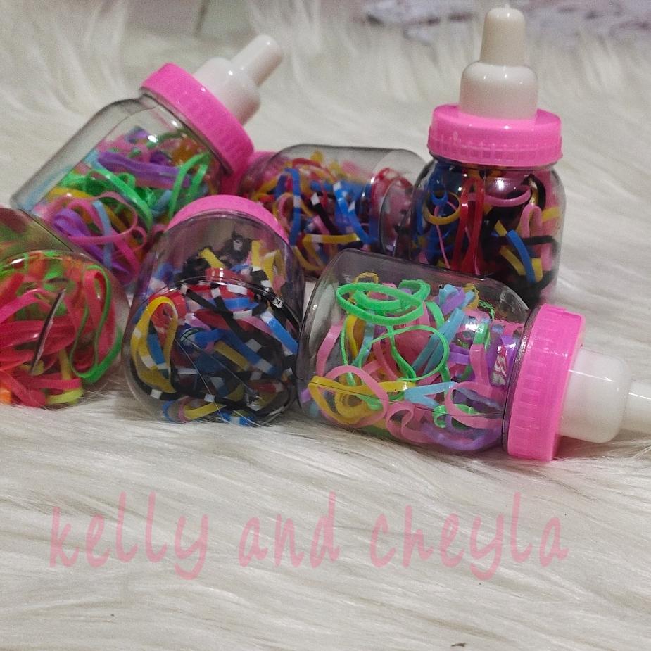 karet rambut jepang karet gelang ikat rambut warna warni thumbnail