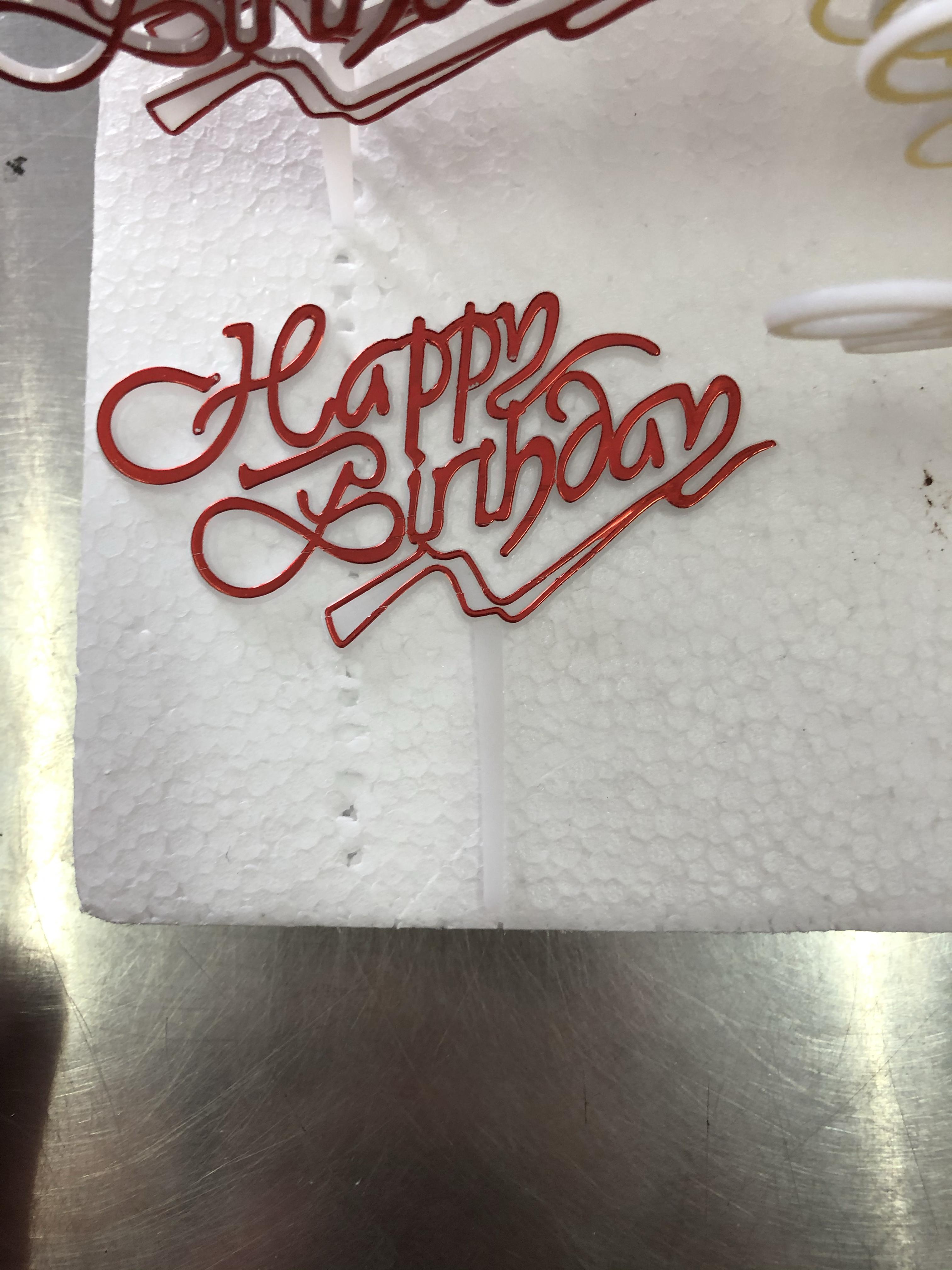 Happy birthday tusuk merah red thumbnail