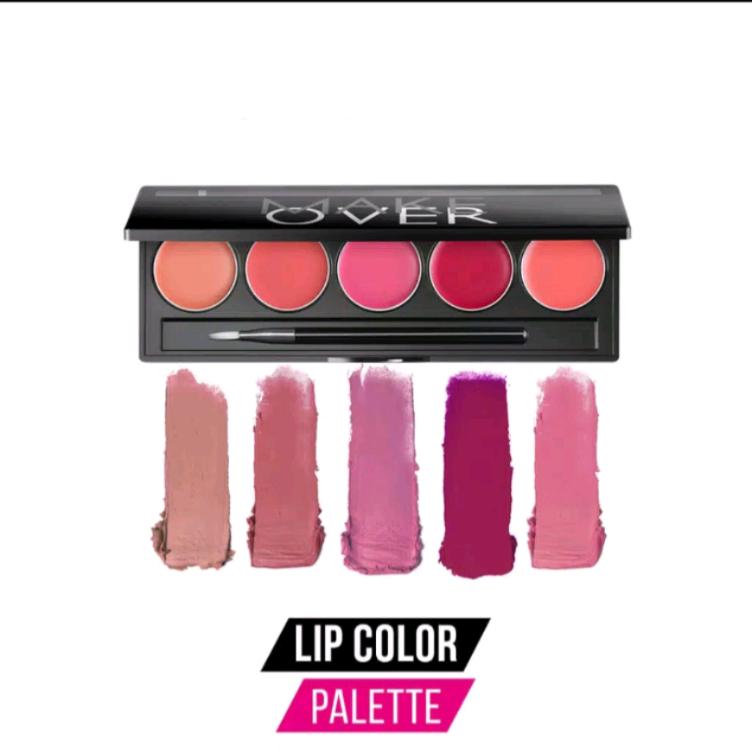 Make Over Lip Color Palette 5 x 1.7g thumbnail