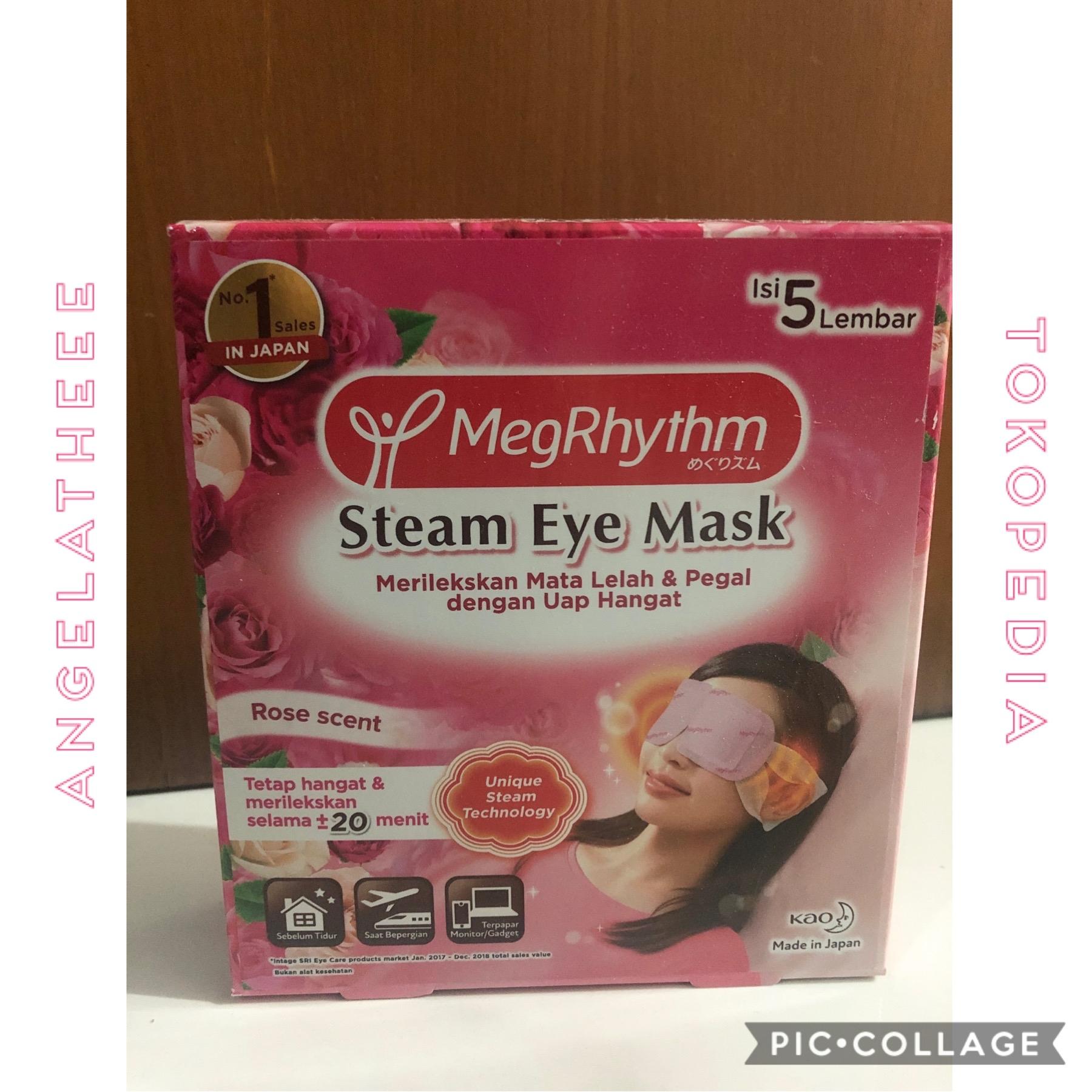 MegRhythm Masker Mata Steam Eye Mask Rose 5 pcs thumbnail