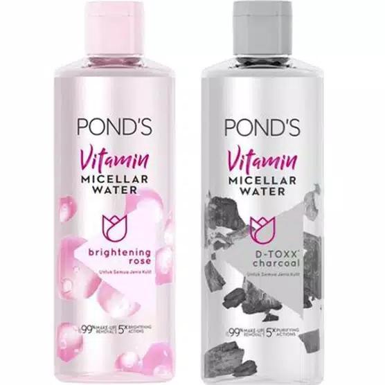 ponds vitamin micellar water 100ml make remover thumbnail