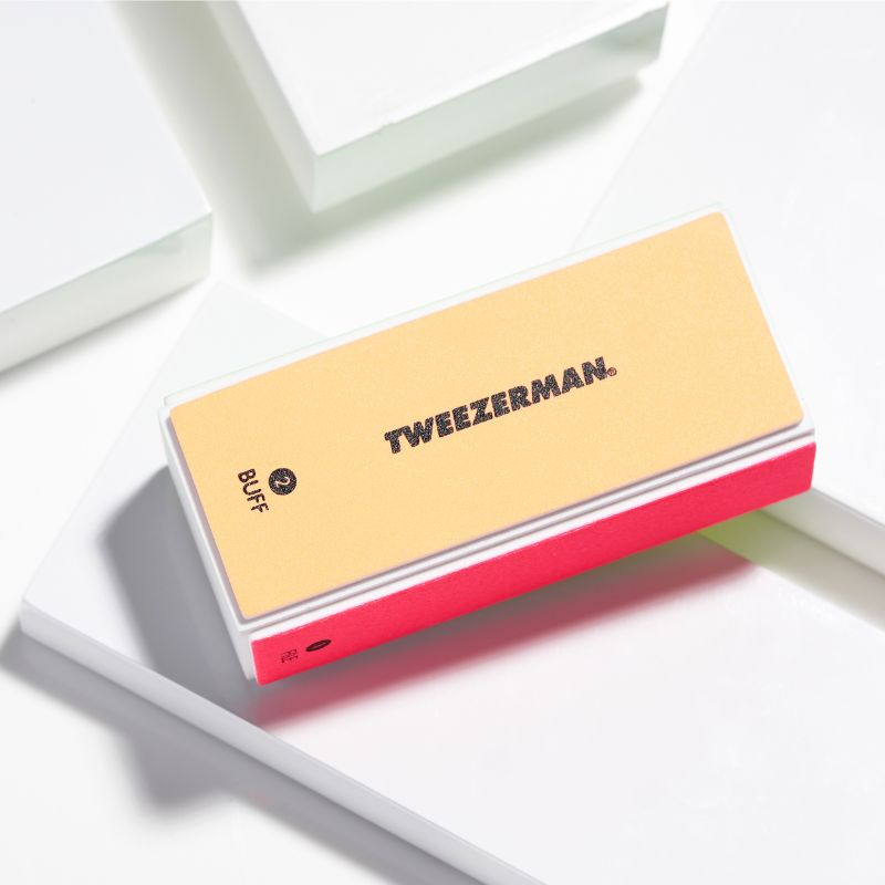 Tweezerman 3491-R neon hot file, smooth, buff & shine block buffer thumbnail