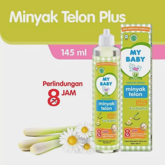 Minyak Telon My Baby 145ml 150ml 8 jam thumbnail