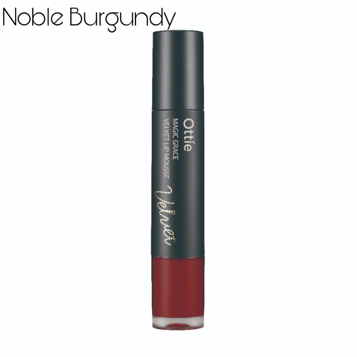 Ottie Magic Grace Velvet Lip Mousse 06 Noble Burgundy thumbnail