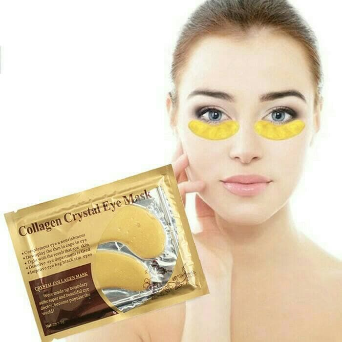 Masker Mata Cristal Collagen Gold - Eye Mask Collagen Gold thumbnail