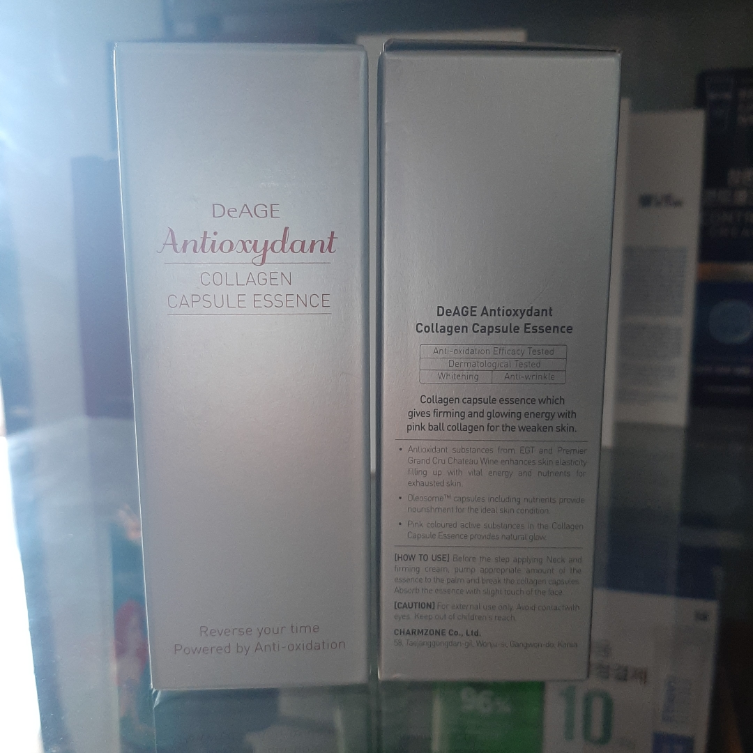deage antioxydant collagen capsule essense 30ml charmzone 2