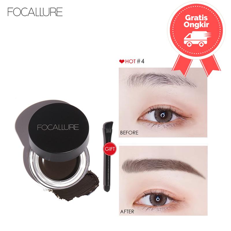 FOCALLURE Waterproof Longlasting Eyebrow Cream FA23 - FA23-01 thumbnail