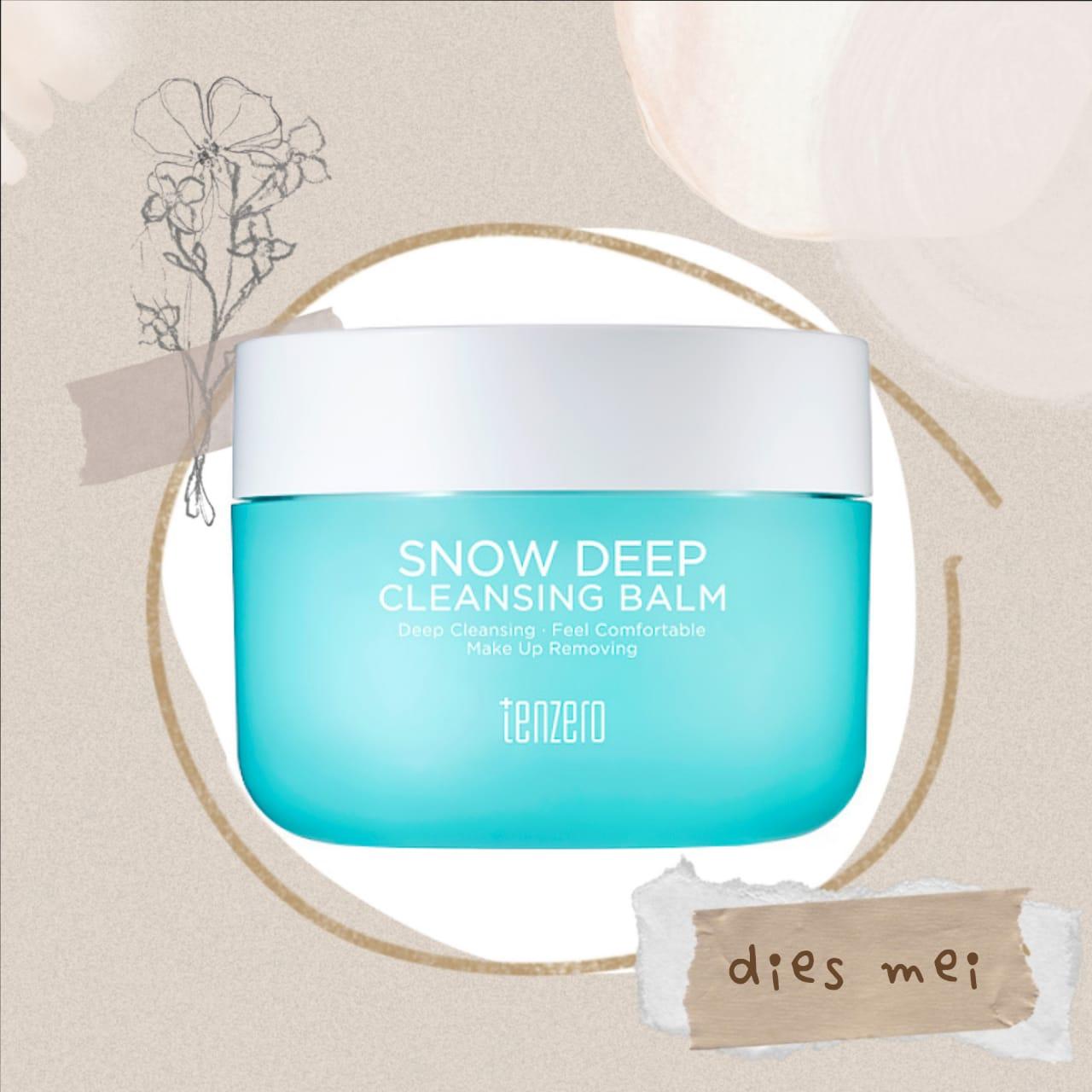 Tenzero Snow Deep Cleansing Balm 80g thumbnail