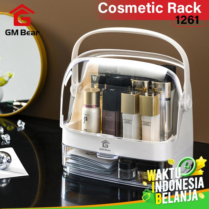 GM Bear Rak kosmetik Kotak Makeup 1261 - Siena Cosmetic Storage Box thumbnail