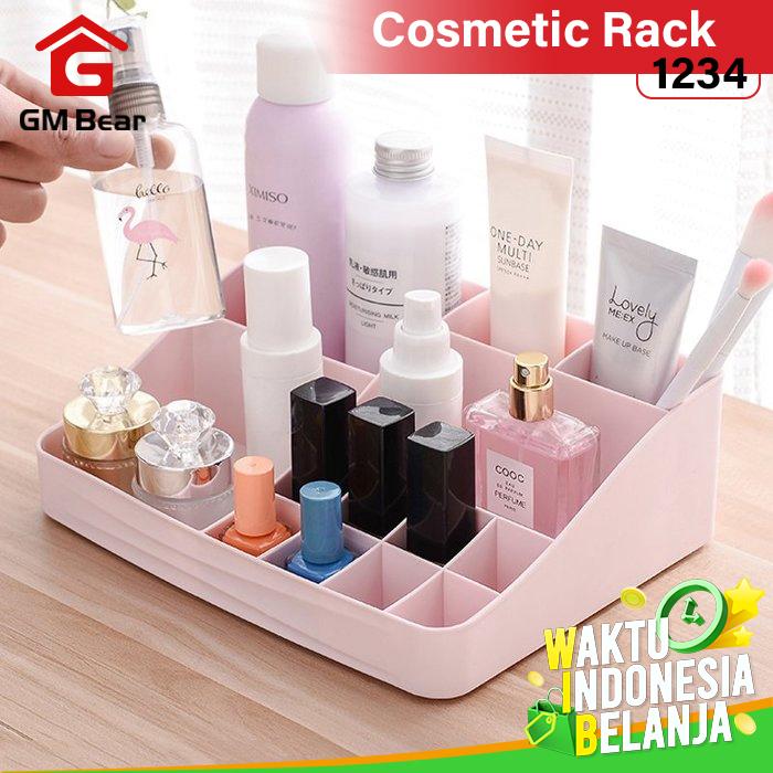 GM Bear Rak Kosmetik Makeup Multifungsi Storage Box 1234-Cosmetic Rack 1