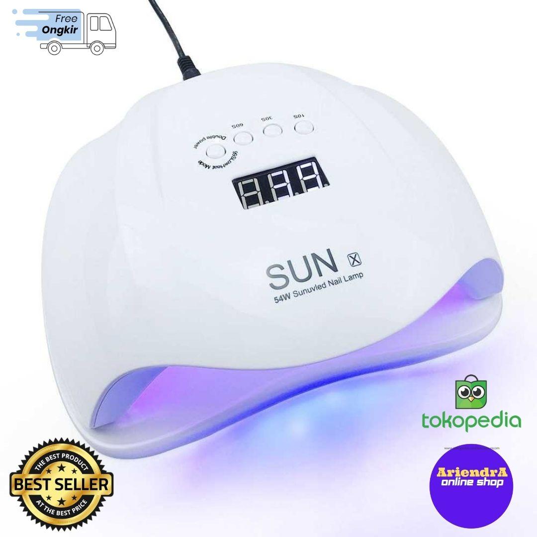 Alat Pengering Kutek Kuku UV LED Nail Dryer 54W - SUN-X RainSolid thumbnail