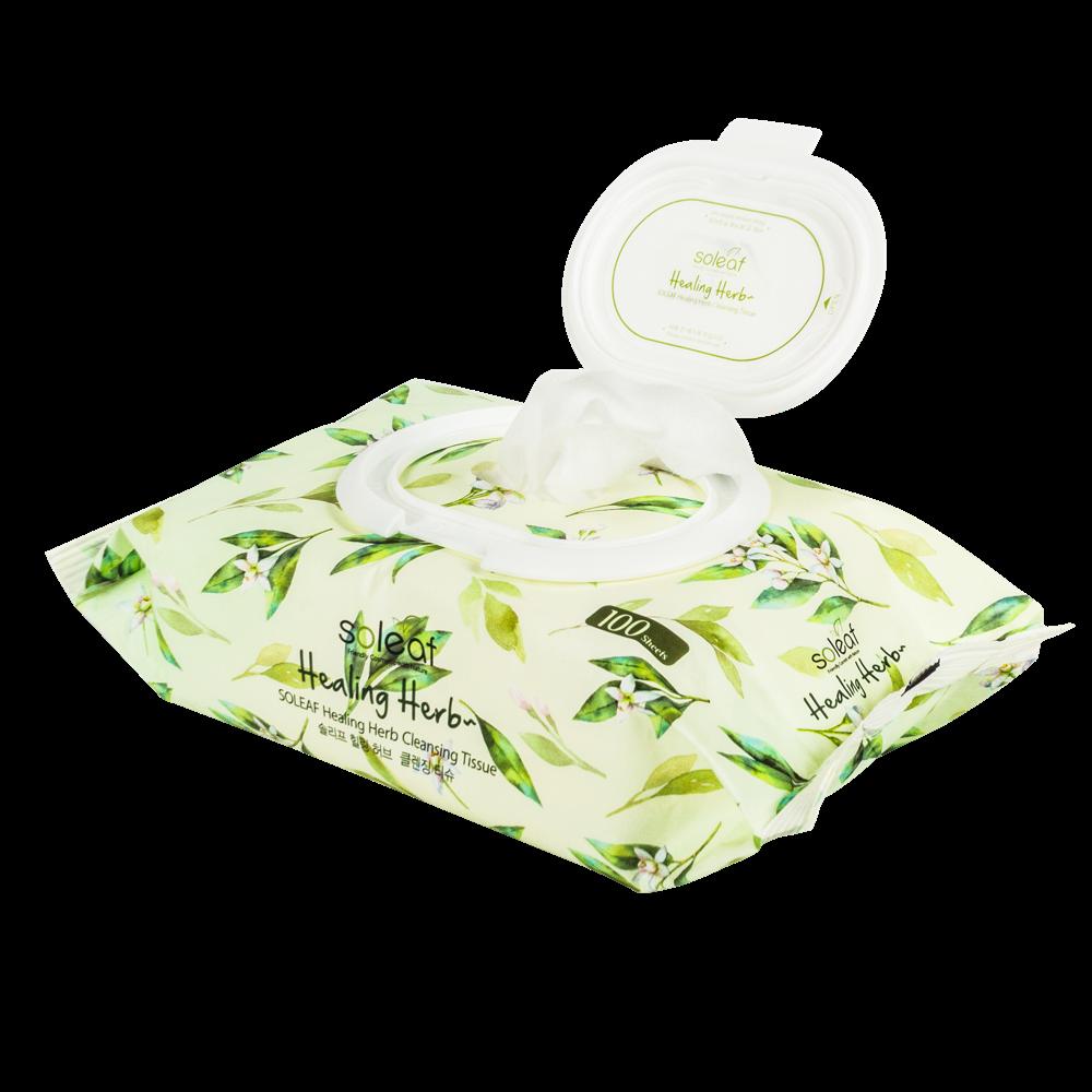 [BIG SALE 3pcs] Healing Herb Foam+Lip & Eye Makeup Remover+Tissue 4