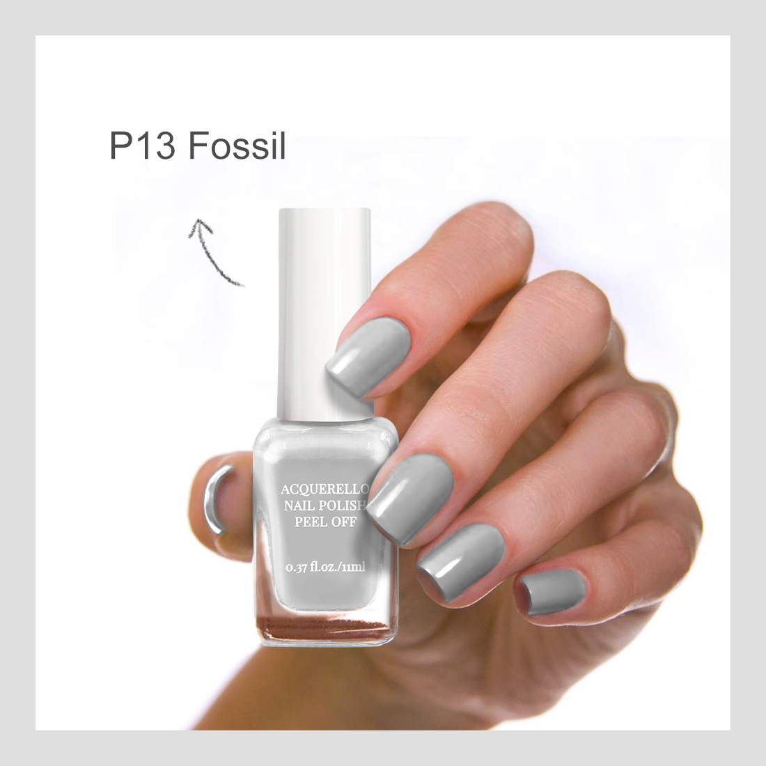 Miniso Official Acquerello Peel Off Nail Polish - thirteen thumbnail