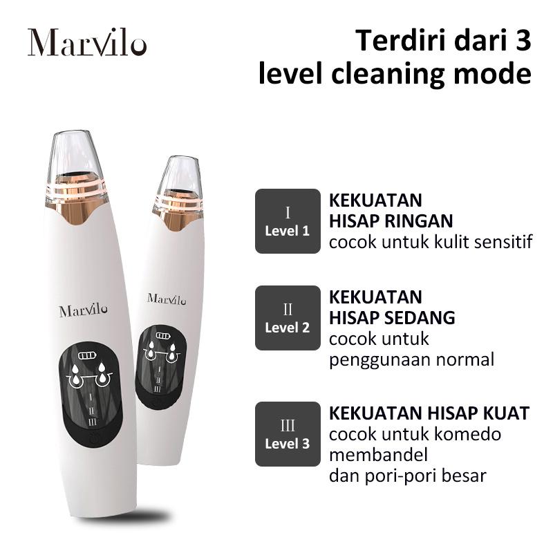 Marvilo Alat Penghisap Komedo Elektrik Blackhead Suction 4003 5