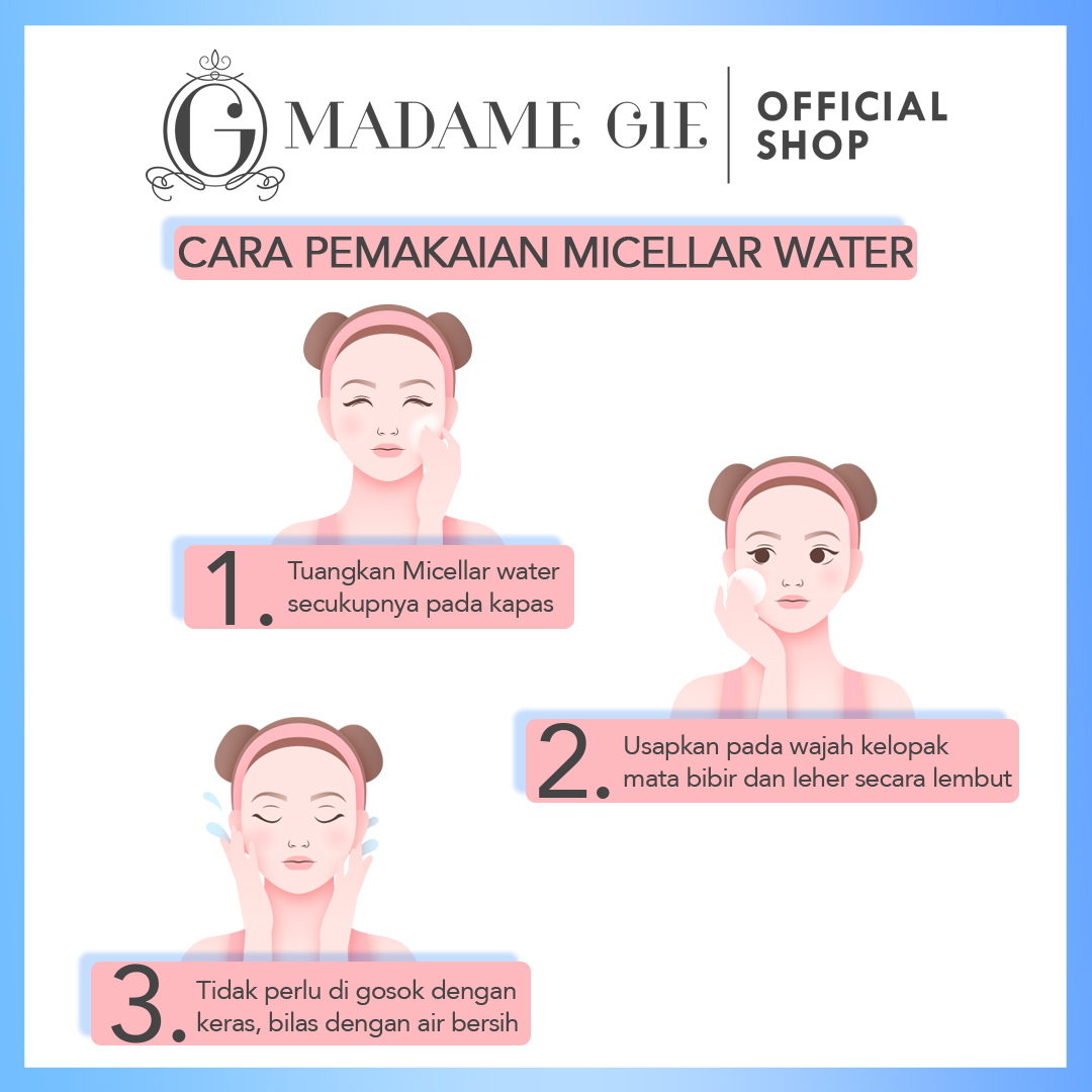 Madame Gie Madame Wipe Me Out Micellar Water - Make Up Remover 2