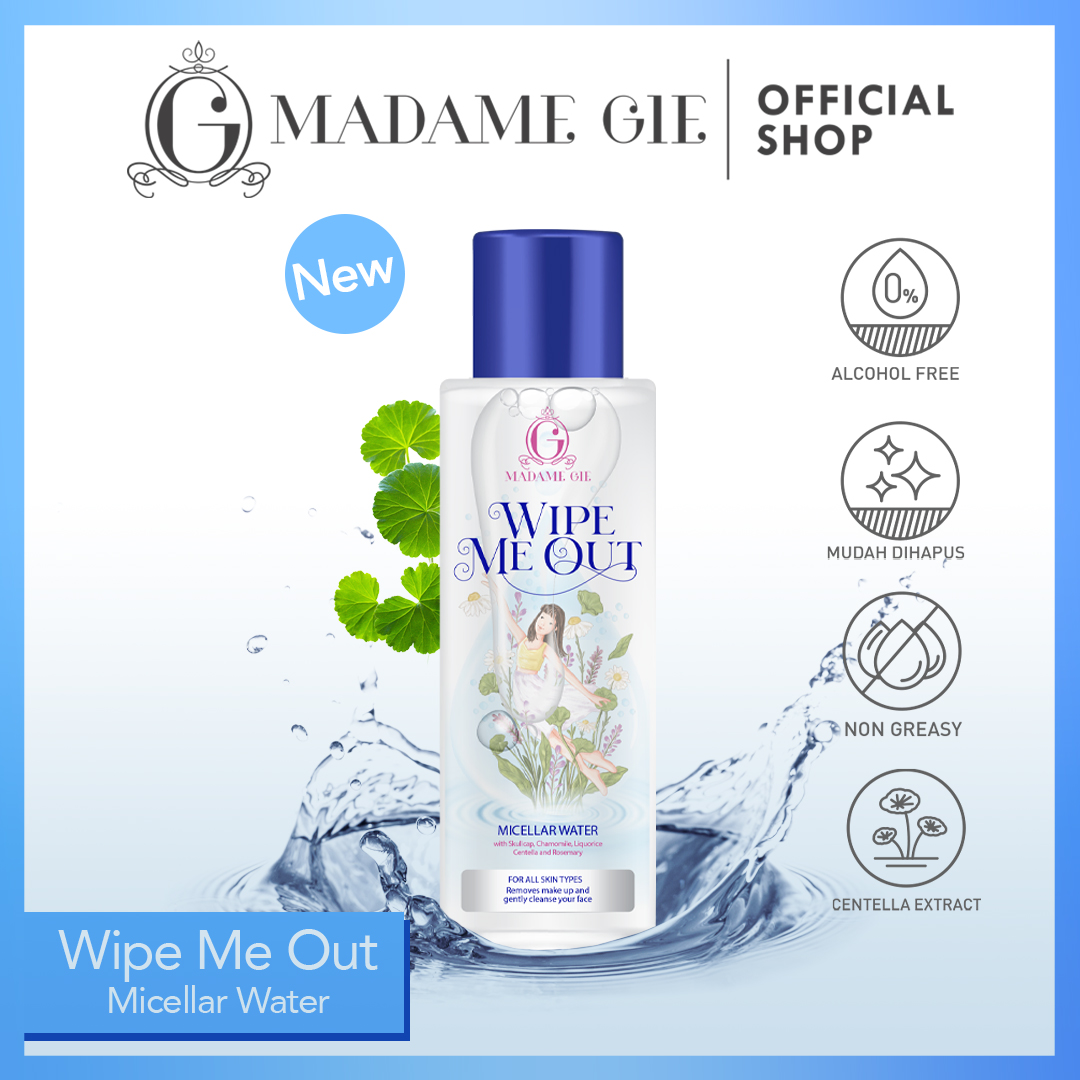 Madame Gie Madame Wipe Me Out Micellar Water - Make Up Remover 1