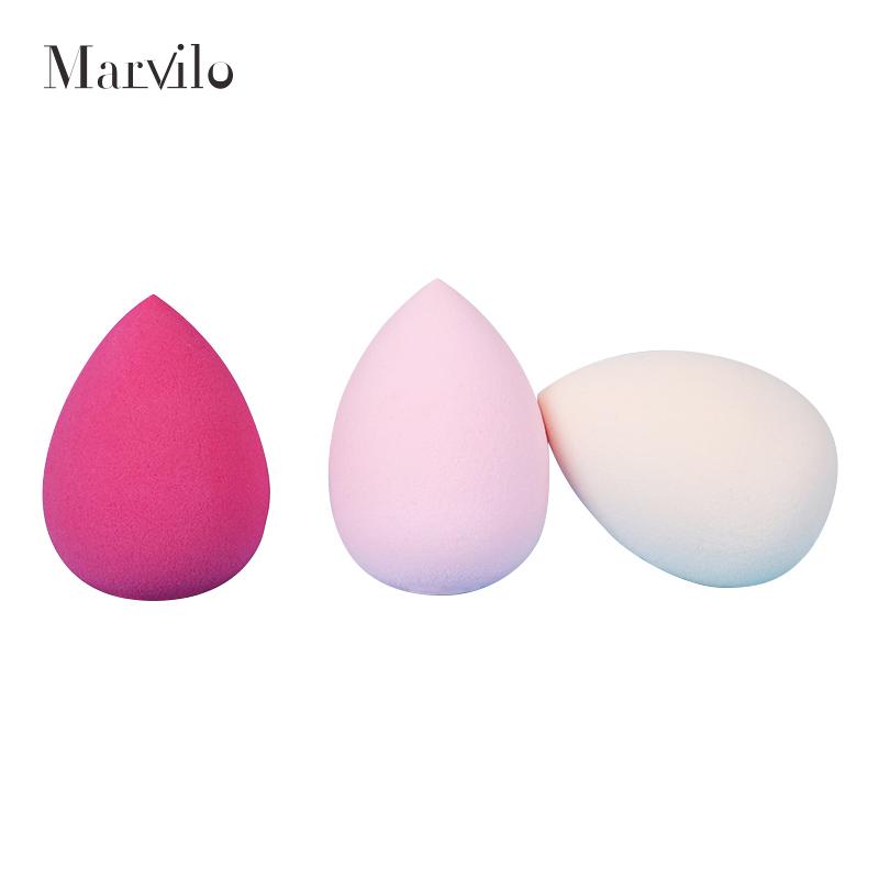 Marvilo Sponge Foundation Beauty Blender Bentuk Telur - Orange 5