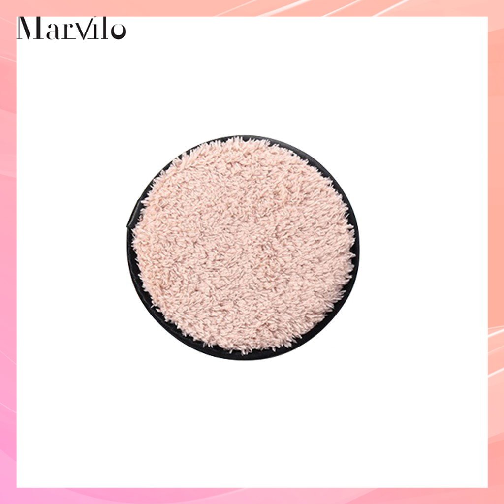 Marvilo Reusable Makeup Remover Cotton Pad - Hitam thumbnail