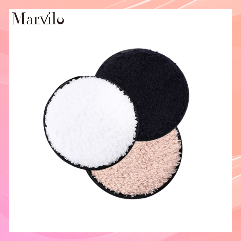 Marvilo Kapas Pembersih Wajah Pakai Ulang Reusable Cotton Pad - Putih thumbnail