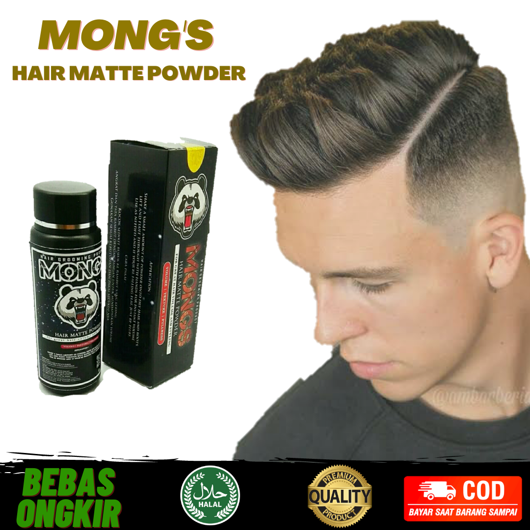 MONG S HAIR MATTE POWDER THE OTTER STYLING HAIR VOLUME 100g thumbnail