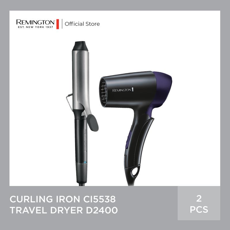 Bundling Remington Pro Big Curl - Travel Dryer D2400 thumbnail