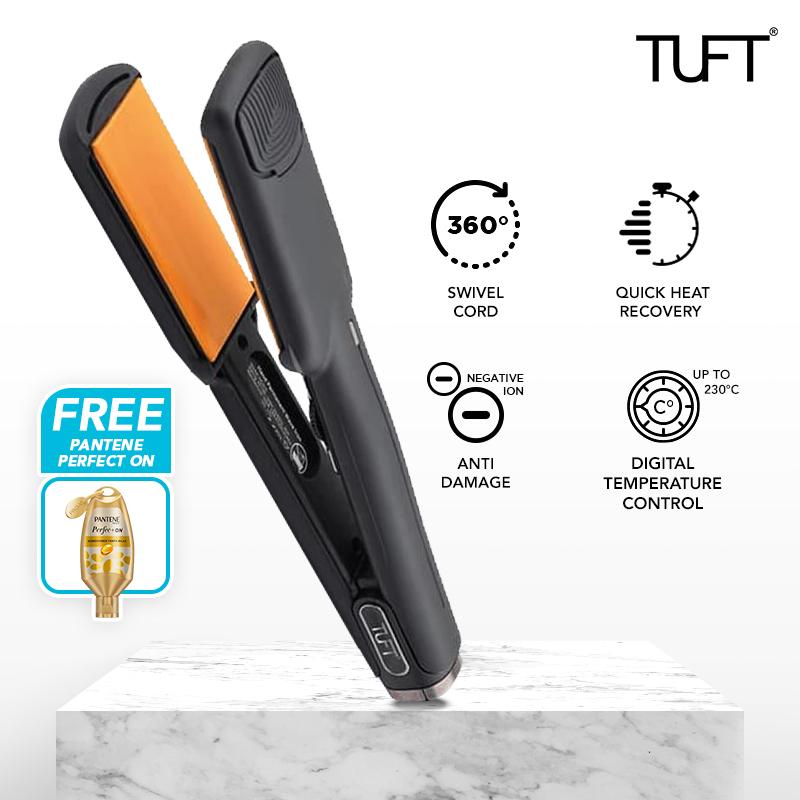 TUFT Diamond Styler 2 inch Catokan Lurus dan Curly thumbnail