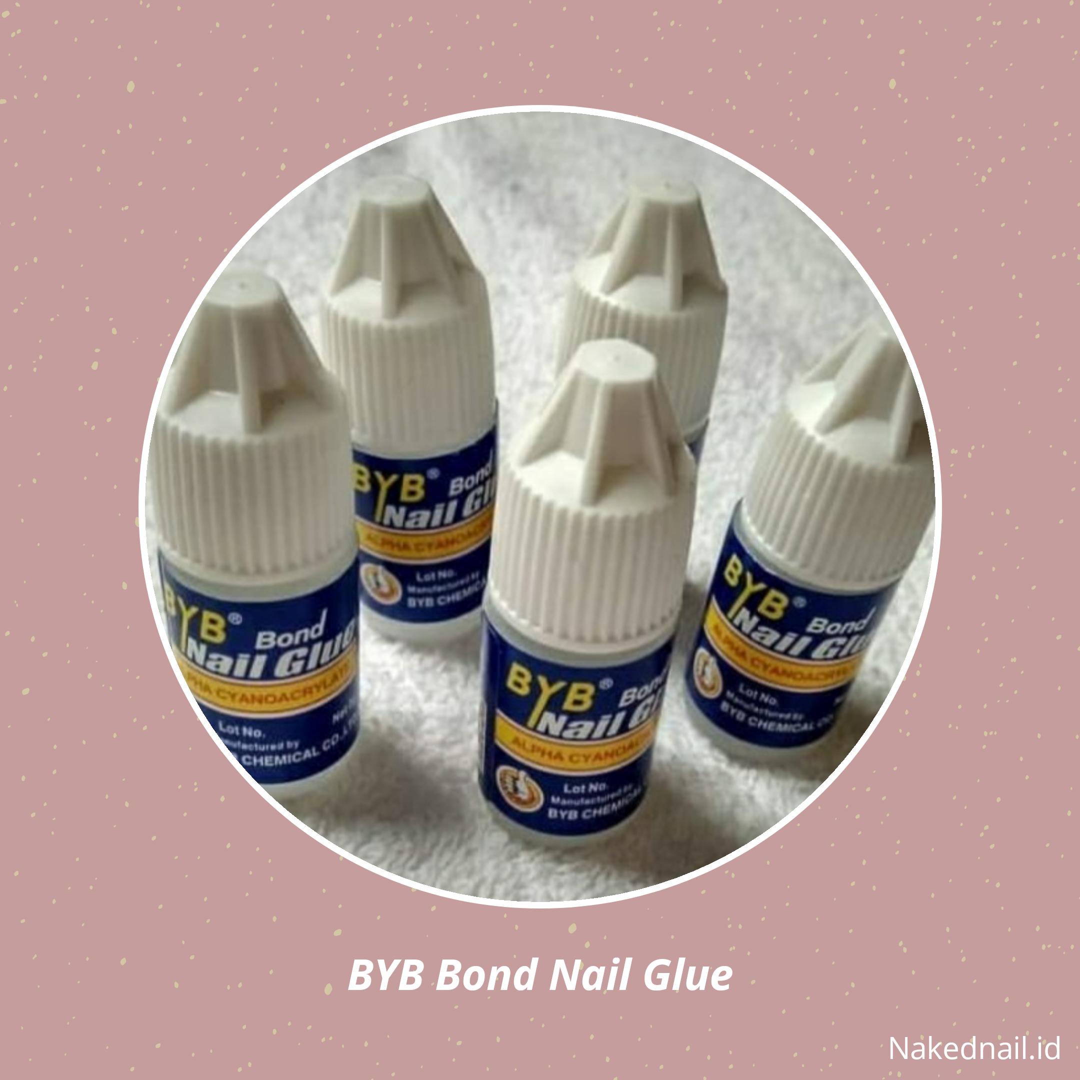 LEM KUKU PALSU BYB YDD LEM KUKU BYB nail glue 3G thumbnail