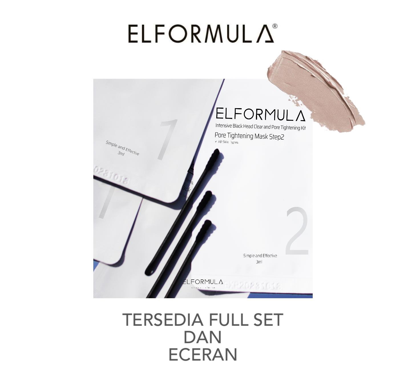 Elformula Intensive Blackhead Clear and Pore Tightening Kit - 1 set thumbnail