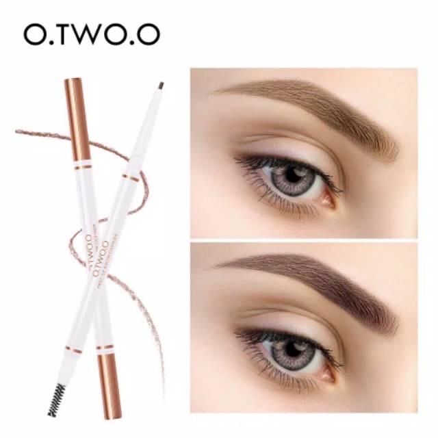 O.TWO.O Double Head Precise Eyebrow Pen Definer Long Lasting - 01 thumbnail