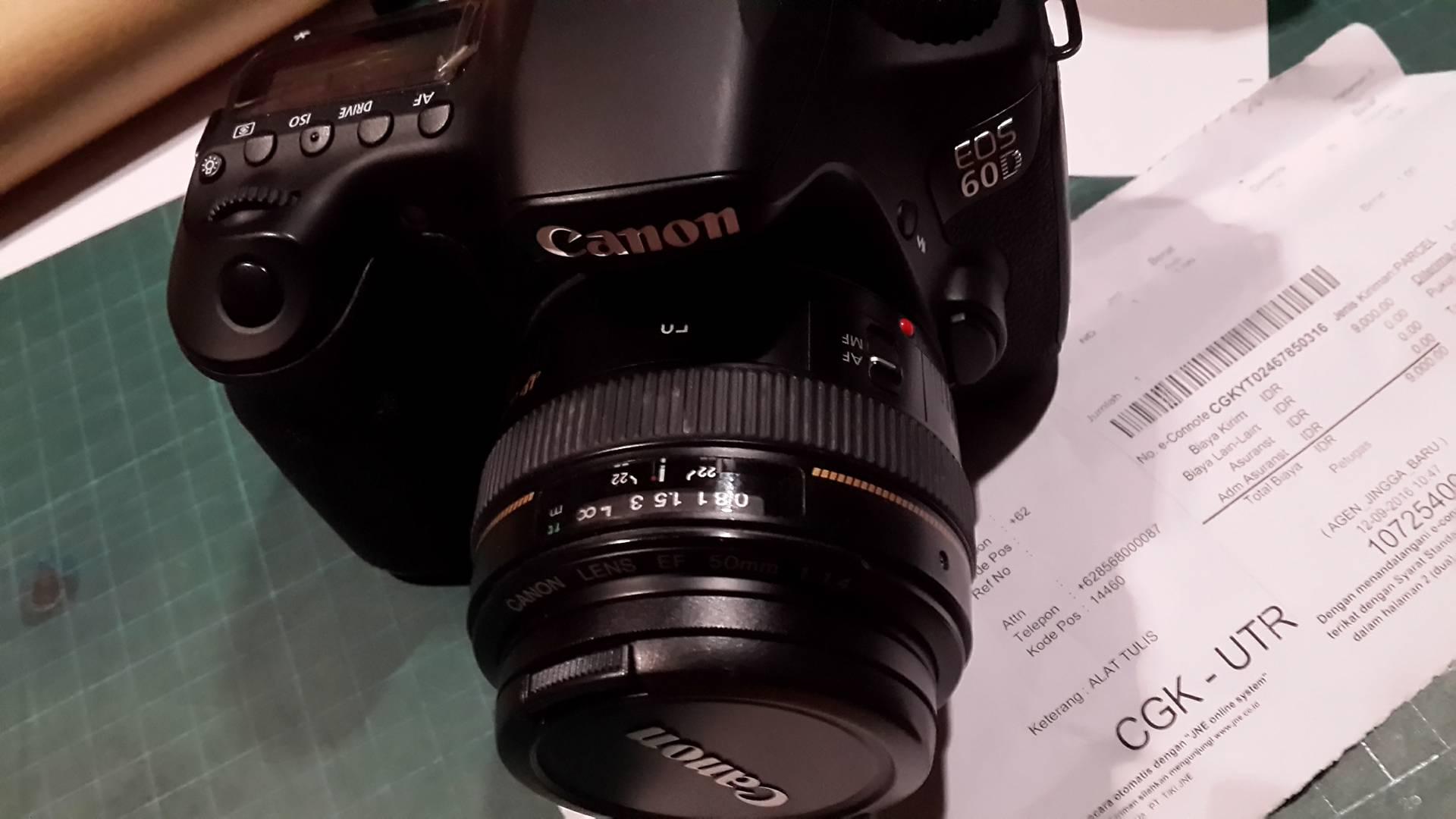 Jual Kamera Canon EOS 60D