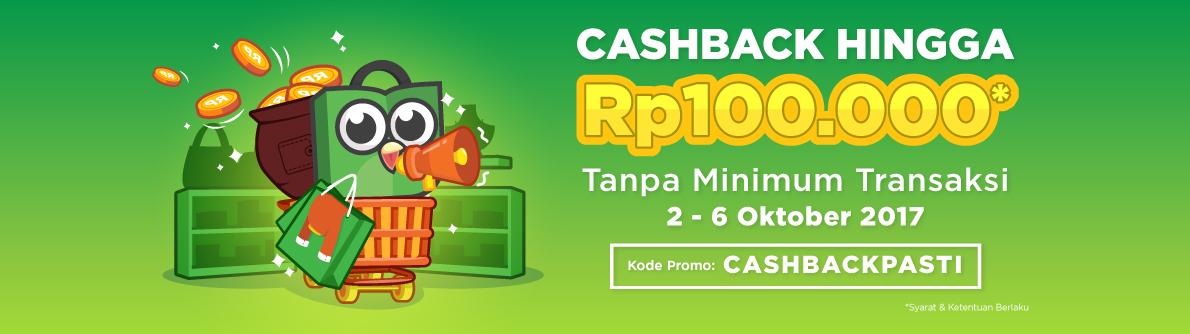 Promo Cash Back Tokopedia, Bisa Sampai 5X transaksi Lho!! Yuk disimak Dulu Gimana Cara dapetinnya.