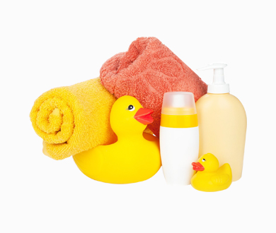 Handuk dan peralatan mandi