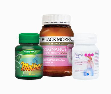 Vitamin & Nutrisi Ibu Hamil