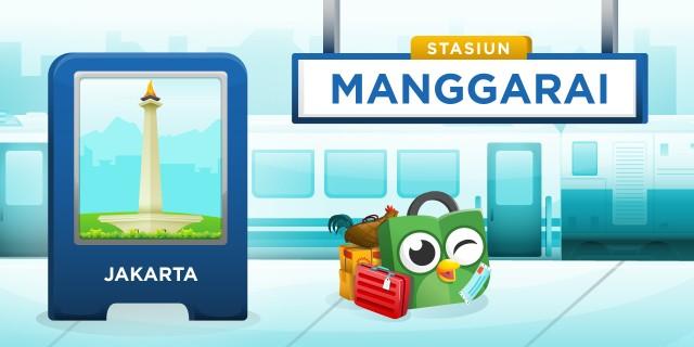 Stasiun Manggarai Jakarta Selatan