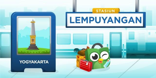 Stasium Lempuyangan Yogyakarta