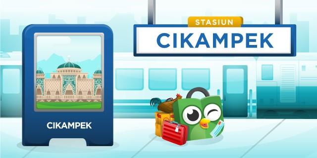 Stasiun Cikampek CKP Karawang
