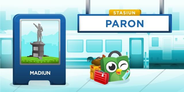 Stasiun Paron Madiun