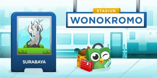 Stasiun Wonokromo Surabaya