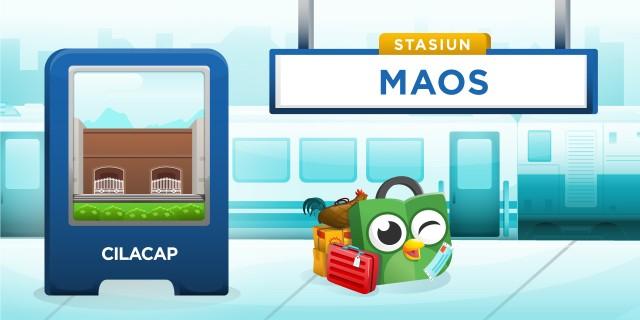 Stasiun Maos