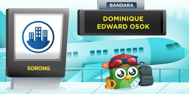 Bandara Dominique Edward Osok