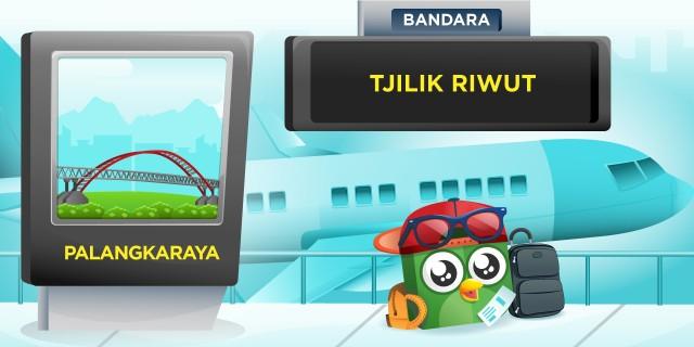 Bandara Tjilik Riwut (PKY) Palangkaraya