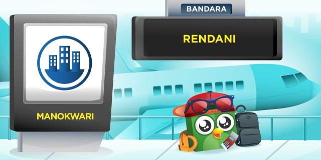 Bandara Rendani Papua