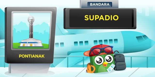 Bandara Supadio Pontianak (PNK)