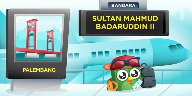 Bandara Sultan Mahmu Badaruddin 2 Palembang