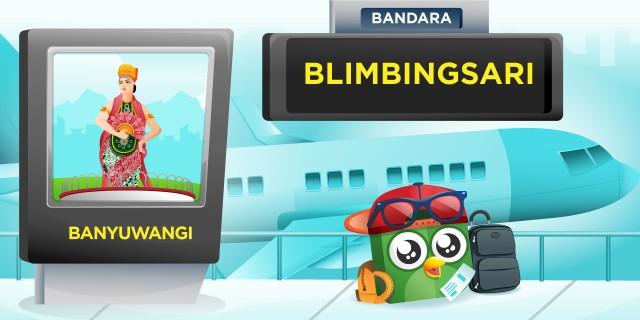 Bandara Blimbingsari Banyuwangi BWX