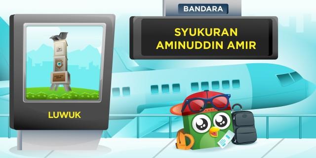 Bandara Syukuran Aminuddin Ami