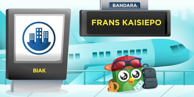 Bandara Frans Kaisiepo Biak Papua